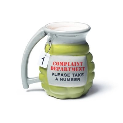 complaint department granade mug from Big Mouth Products