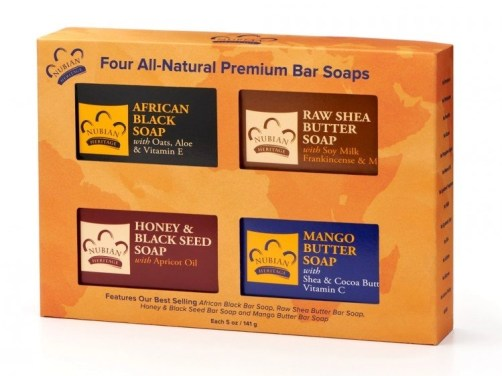 nubian heritage premium bar soap set