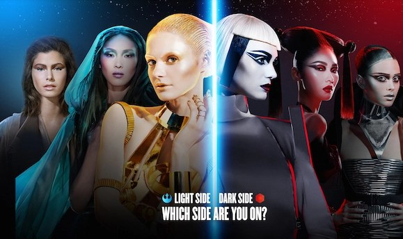 May the Star Wars (beauty) Force Be With You @CoverGirl, #BeautyForce, #StarWars