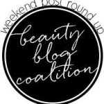 beauty blog coalition weekend roundup round logo