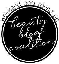 beauty blog coalition weekend roundup round logo
