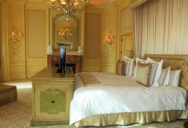 a look at a small part of the master bedroom Augusts Suite