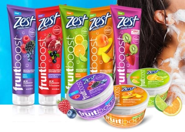 zest fruitboost body cleansers and scrubs