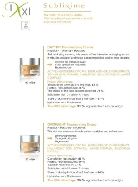 IXXI Sublixime Mature Skin II