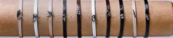 a sampling of Delicacies bracelets