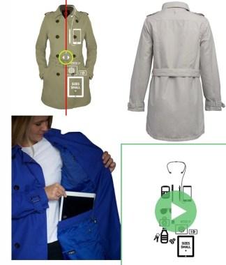 SCOTTeVEST SeV Women's Trench Coat