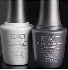 Morgan Taylor React Top and Base Coats