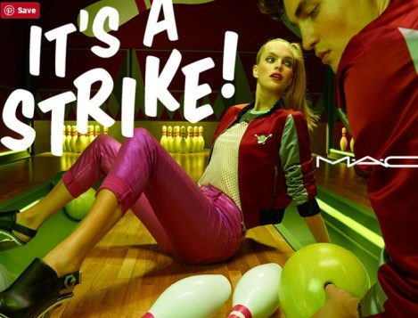 MAC Cosmetics Its a Strike Makeup Collection Poster fall 2016