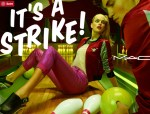 Its a Strike Makeup Collection by MAC Cosmetics BOWLS You Over!  #MACItsaStrike