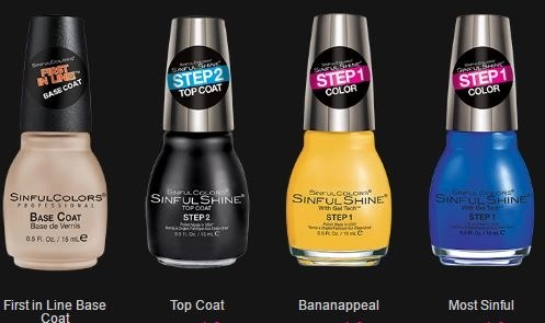 sinful colors rio flare set 1