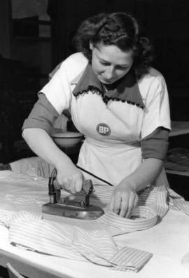 woman-ironing-vintage-photo