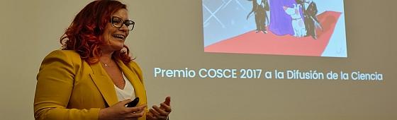 Clara Grima Premio COSCE home