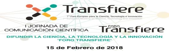 Jornada de Comunicacion Cientifica Transfiere home