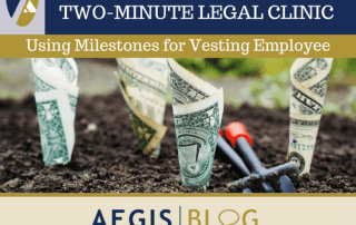 BLOG LINKEDIN Using Milestones for Vesting Employee Equity Compensation