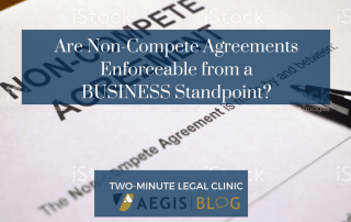 BLOG website image Are Non-Compete Agreements Enforceable from a BUSINESS Standpoint-