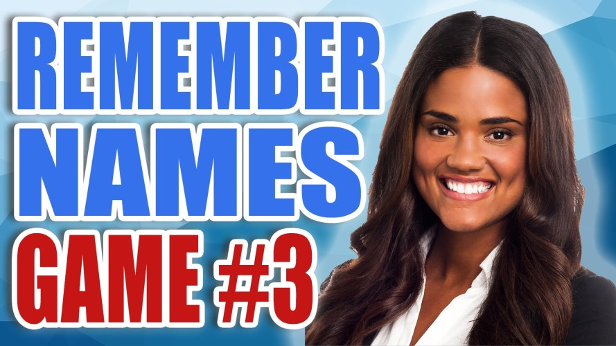 Remember Names Game 3
