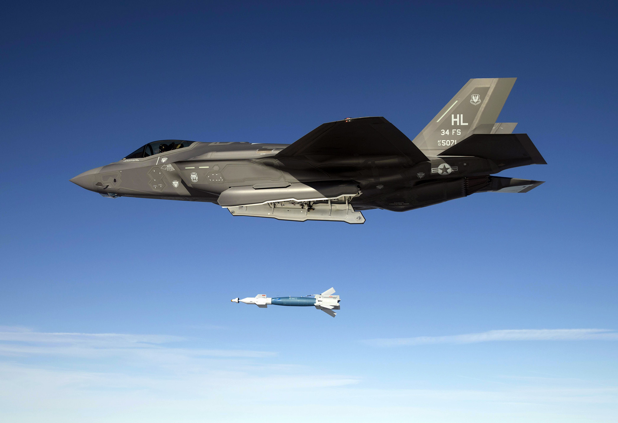 F-35A bombing test