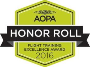 AOPA, flight training, honor, aerodynamic