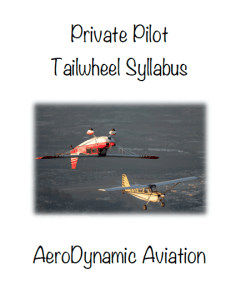 tailwheel syllabus, tailwheel endorsement, Citabria, California