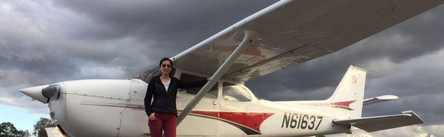 first solo, student pilot, cessna, krhv