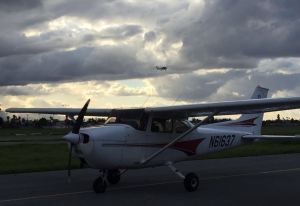 first solo, student pilot, cessna