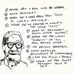 Never Open a Book with the Weather: Writing Advice from Elmore Leonard