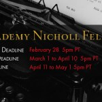 Apply Now for the $35,000 Academy Nicholl Fellowships in Screenwriting
