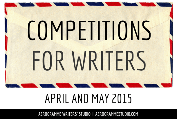 Competitions for Writers in April and May 2015
