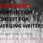 Boulevard Short Fiction Contest for Emerging Writers: Entries Close 31 December 2015