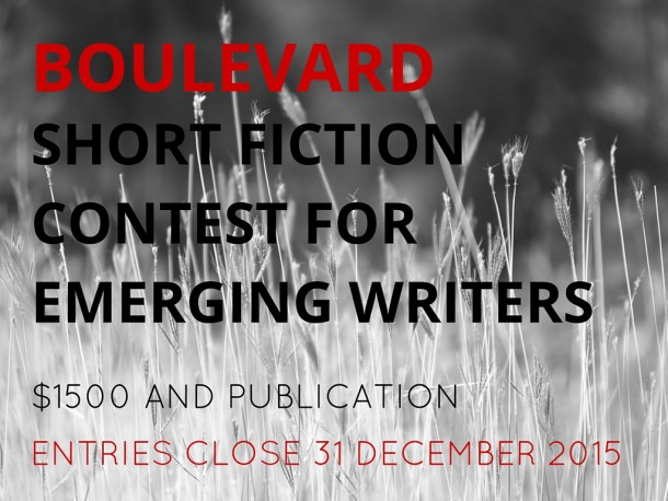 Boulevard Short Fiction Contest for Emerging Writers 2015