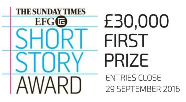 Sunday Times Short Story Award 2017