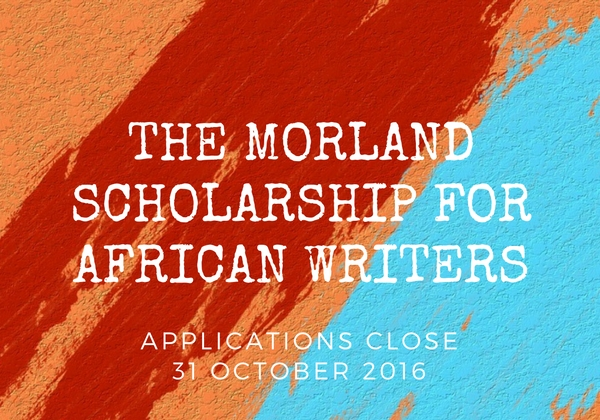The Morland Scholarship for Writers 2017