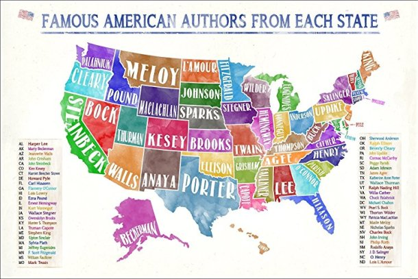 famous-american-authors-map
