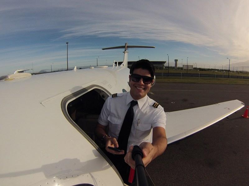 Entrevista com o piloto brasileiro Dayv Franco. GOPR0503