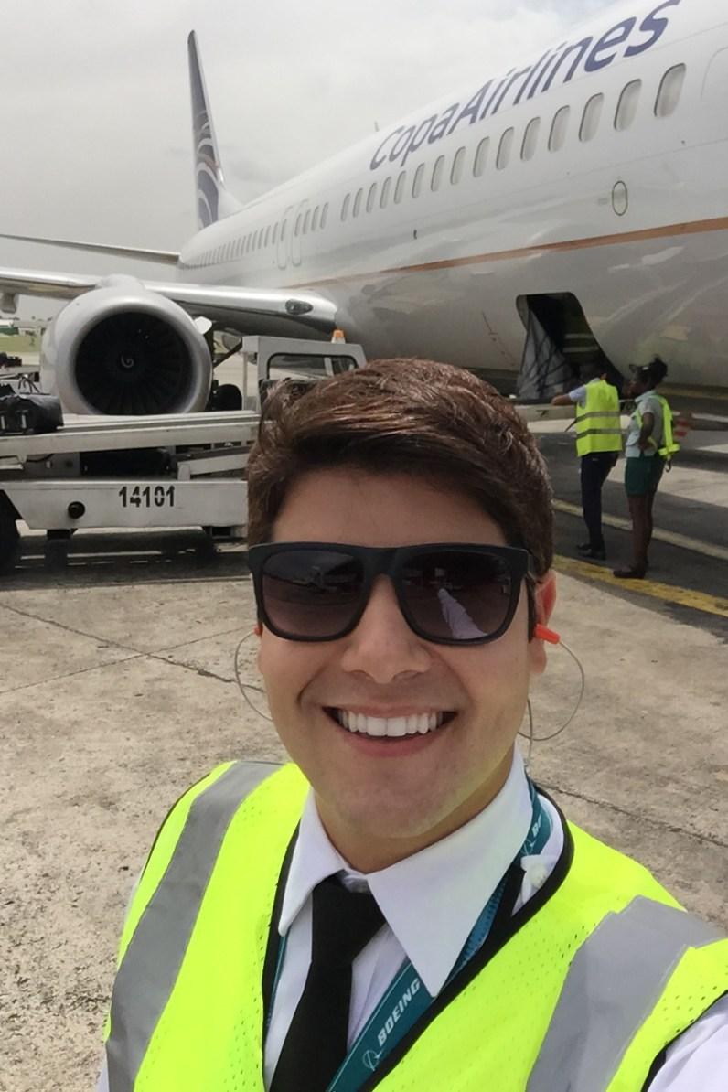 Entrevista com o piloto brasileiro Dayv Franco. IMG_1779