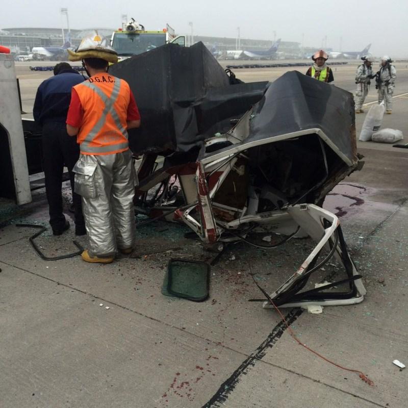 [Internacional] Ed Force One é danificado em Santiago durante reboque. Ed-force-one-acidente-iron-maiden-chile-3