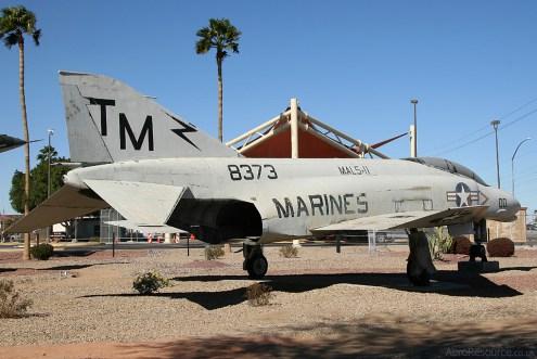 © Stu Skelton - United States Marine Corps • F-4B Phantom II • Marine Corps Air Station Yuma, Arizona