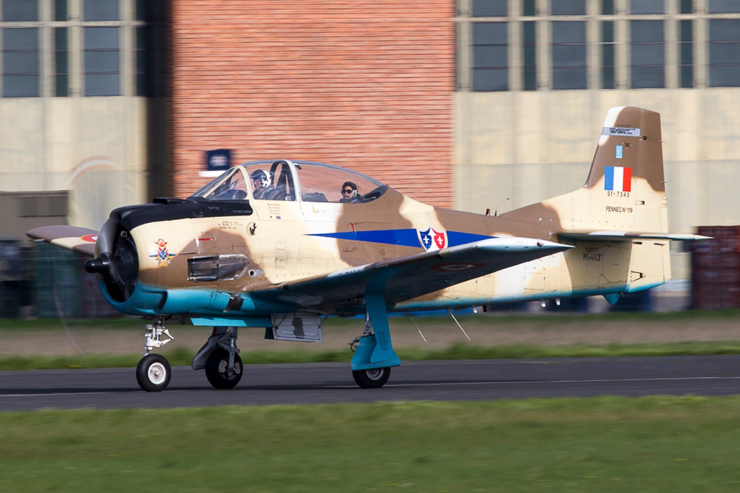 © Adam Duffield - North American T-28 Fennec • Radial Revelations Ltd • Abingdon