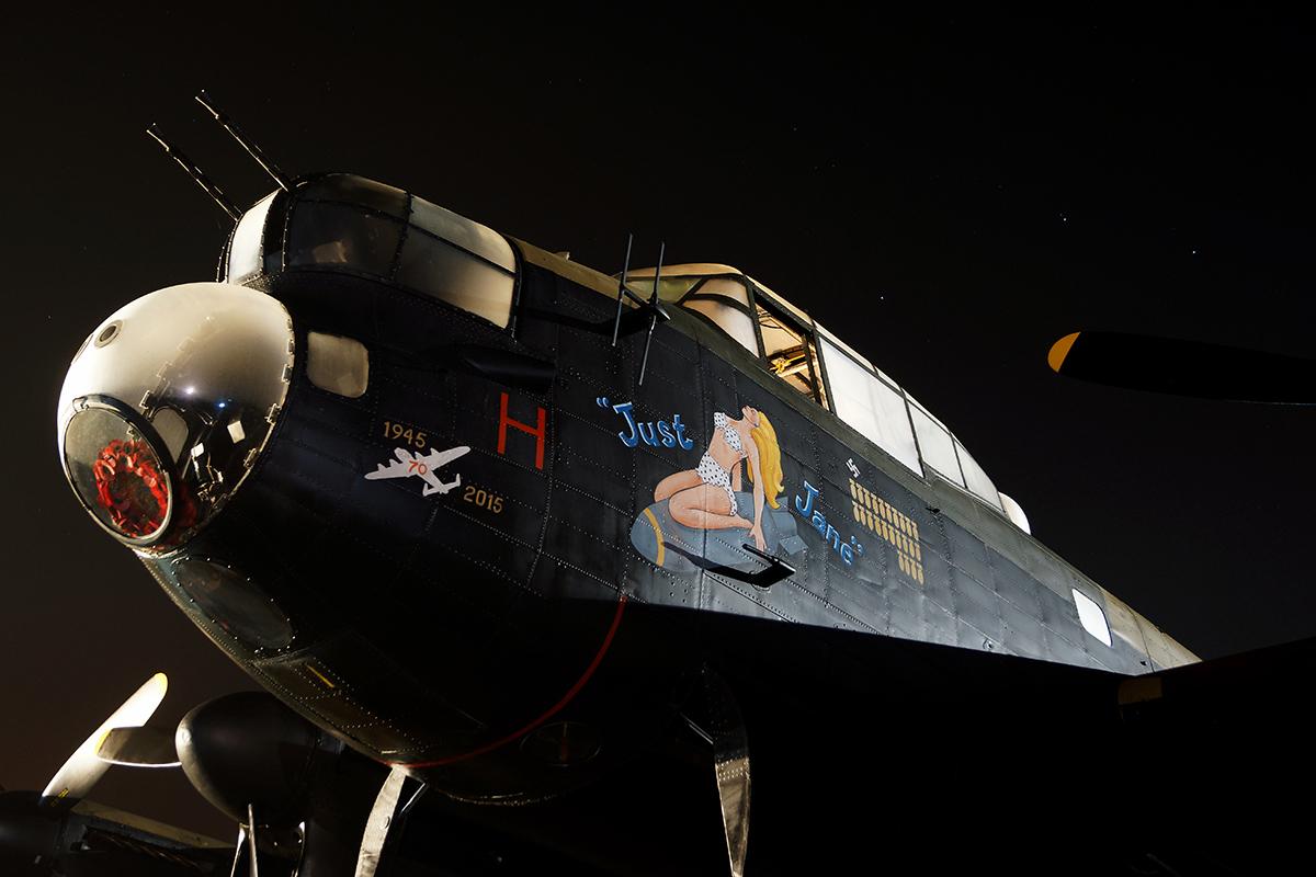 © Jamie Ewan - Avro Lancaster 'Just Jane' NX611 - East Kirkby Fireworks