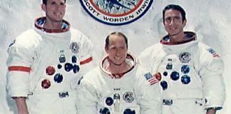 Apollo 15 Picture - Apollo 15 Crew