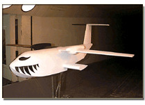 UW 1997 Student Wind Tunnel Model