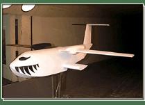 UW 1997 Student Wind Tunnel Model