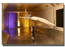 University of Washington 2006 Wind Tunnel Model (photo by Sean Richardson)