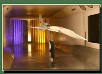 University of Washington 2006 Wind Tunnel Model (photo by Sean Richardson)
