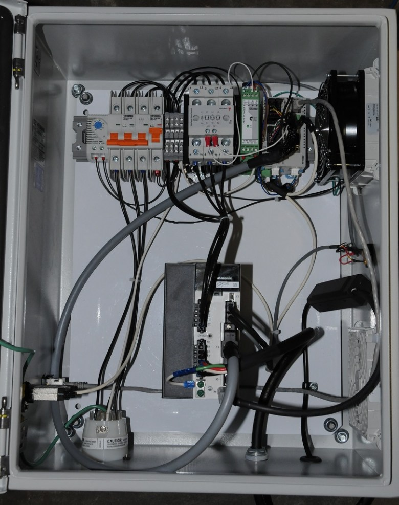 A servo-motor based control system for high-speed wind tunnel flow control equipment