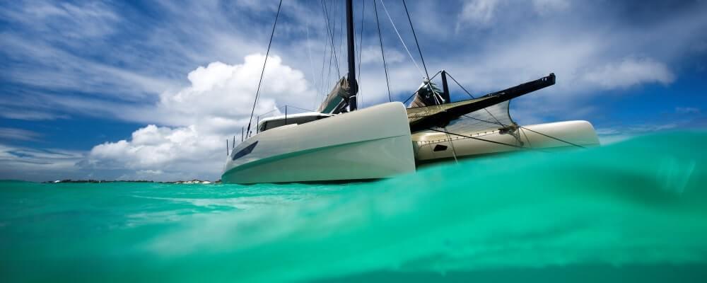 Gunboat 55 catamaran
