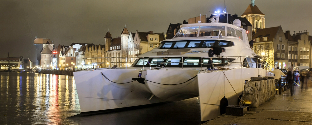 Sunreef power catamaran