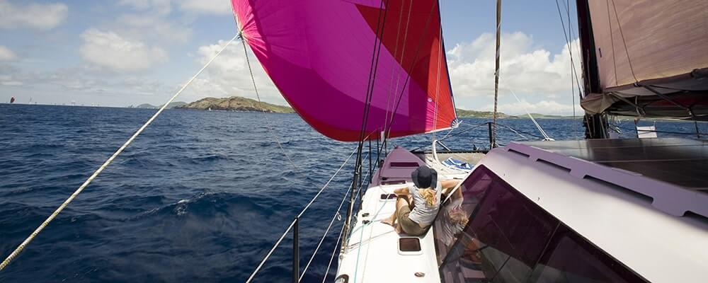 Onboard Looking for Elvis Day 4 of Antigua race week