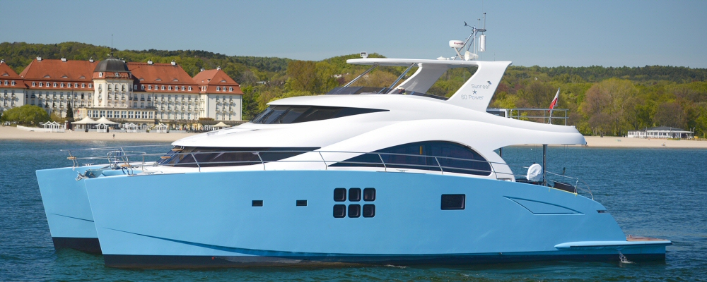 60′ Sunreef Power catamaran