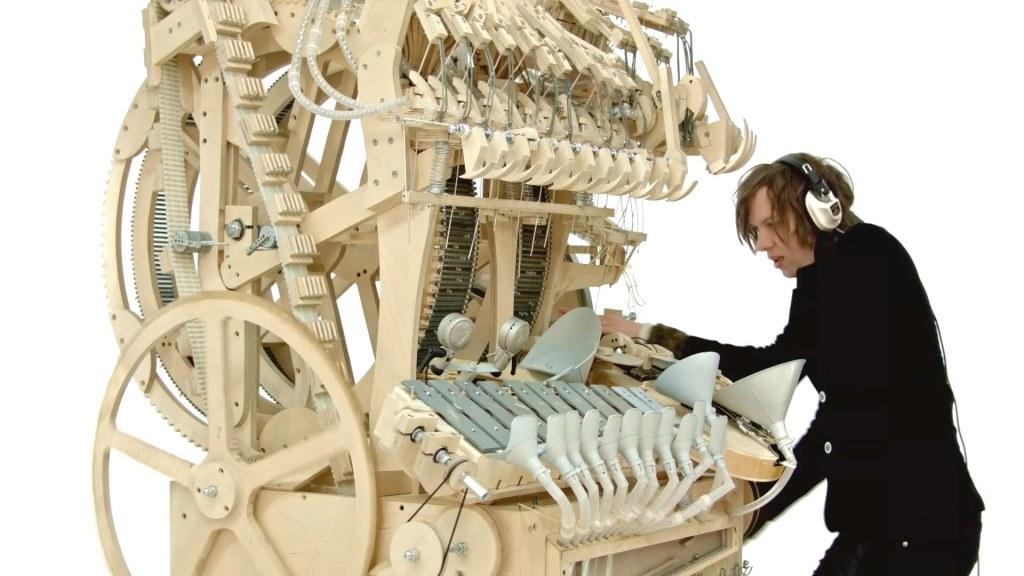 Marble Music Machine